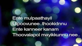 Uyirin nadane song karaoke   Lyrics Video   Joseph movie