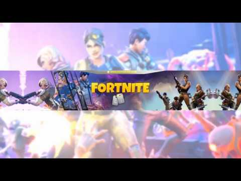 FORTNITE - Channel Art - [BANNERS AVAILABLE] - YouTube