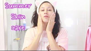Get My Sumer Skincare Routine