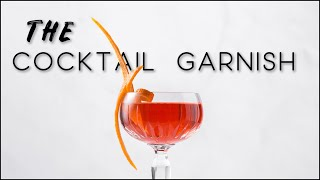 How to make tнe ultimate cocktail garnish | And a 4 ingredients cocktail recipe