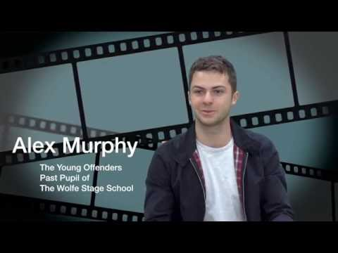 Alex Murphy interview - The young offenders. Past pupil of The Wolfe Stage School acting programme