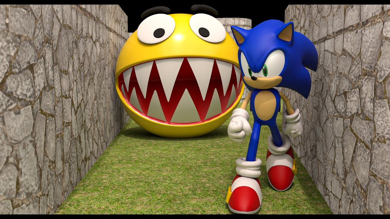 Pacman vs Uganda Knuckles vs Sonic