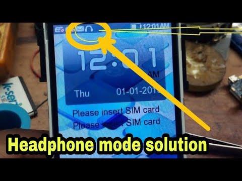 any keypad mobile headphone mode icon symbol problem  solution,lava+karbonn+intex+micromax+itel+jivi