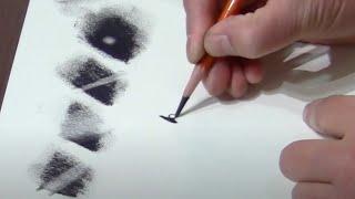 Basics of charcoal pencils and eraser
