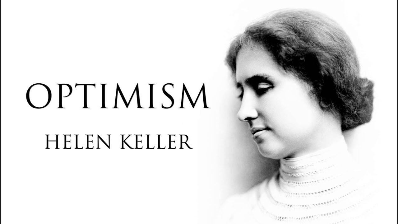 Optimism  An Essay By Helen Keller Audiobook  Youtube Optimism  An Essay By Helen Keller Audiobook Buy Speeches also Writings Help  Custom Written Literature Review