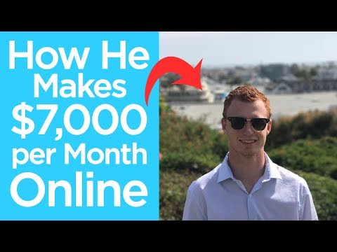 How He Makes $7,000 per Month Affiliate Marketing | Chad Bartlett