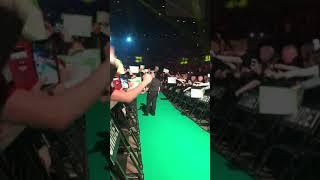 Daryl Gurney walk on Liverpool 11/04/19 Premier League