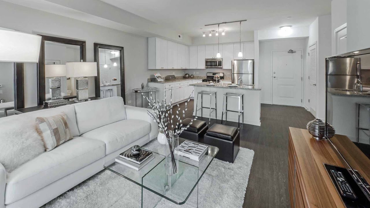 Tour a luxury 1bedroom apartment at the new Oaks of Vernon Hills  YouTube