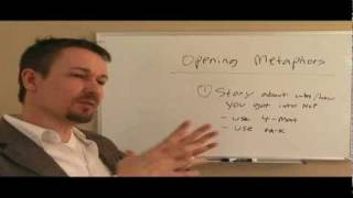 Wie Erstellen, Öffnen Metaphern (NLP-Trainers-Kurs) - Dr. Steve G. Jones