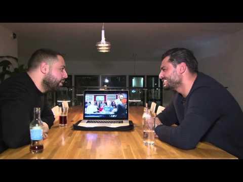 Salaheddine achter de schermen met Hamza Benmira (Borrelnootjez)