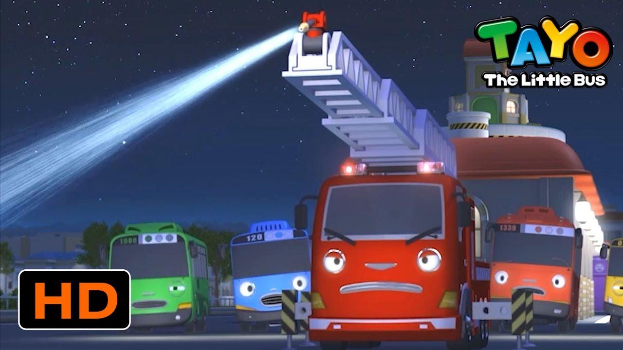 Tayo English Episodes l Take down that fire! l Tayo the Little Bus