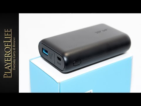ANKER Powercore 10000 QC3 Quick charge 3 Powerbank - June 2017
