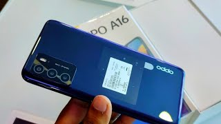 Oppo A16 Unboxing,First Look & Review !! Oppo A16 Price, Specifications & Many More 🔥🔥🔥