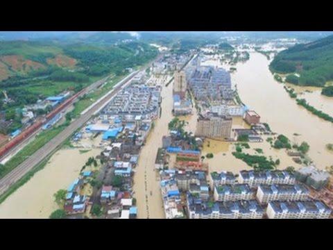 Lluvias torrenciales dejan al menos 56 muertos y 22 desaparecidos en China