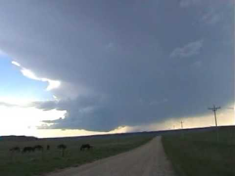 Supercell timelapse, S Dakota, May 20 2005