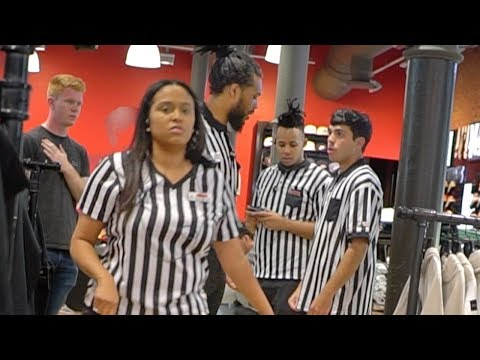 Fake Footlocker Employee Prank! (EMPLOYEE TRIES TO FIGHT US)