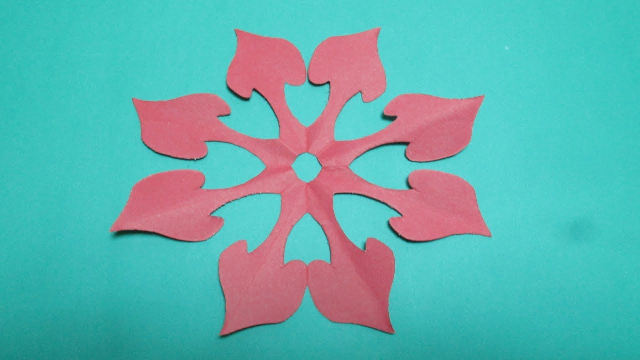 Paper Cutting Techniques How To Make A Kirigami Paper Snowflake