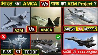 AMCA V/s AZM | F35 or TEDBF (Twin engine Naval Tejas) ? | mig21 as drone | JF 17 vs Tejas 1A