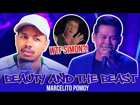 """Marcelito Pomoy """"Beauty And The Beast"""" DUAL VOICES! - America's Got Talent: The Champions   Reaction"""