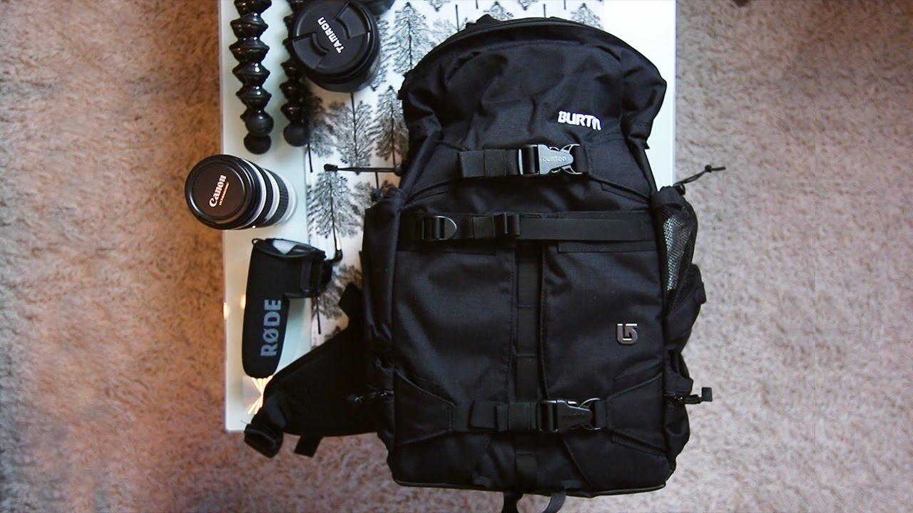 Burton Zoom Pack Review (stylish Dslr Camera Bag & Video