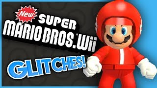 New Super Mario Bros. Wii GLITCHES! - What A Glitch!