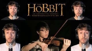 The Hobbit - Misty Mountains - Jun Sung Ahn & Peter Hollens Violin/A Cappella Cover
