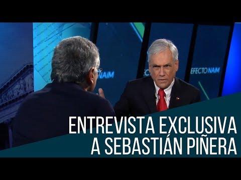 Moisés Naím entrevista a Sebastián Piñera