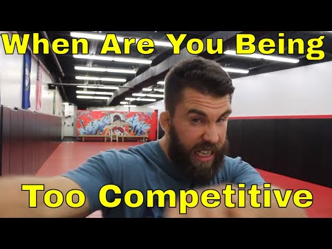 How Competitive Should You Be When You Roll in BJJ ?