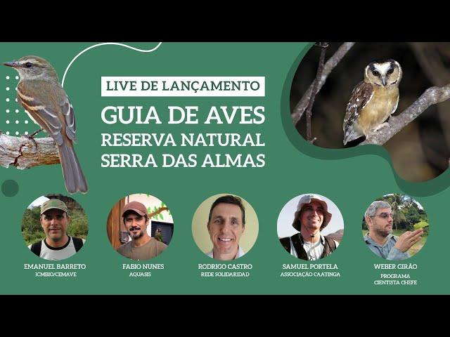 Guia de aves - Reserva Natural Serra das Almas