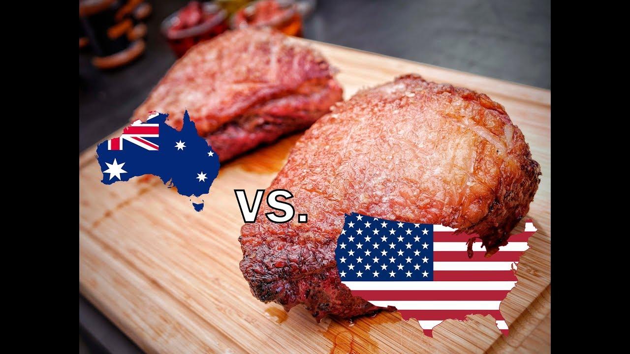 beef vs australian american angus wagyu battle