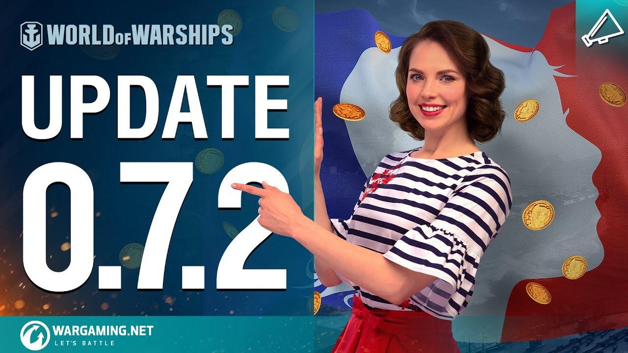 World of Warships – Update 0.7.2
