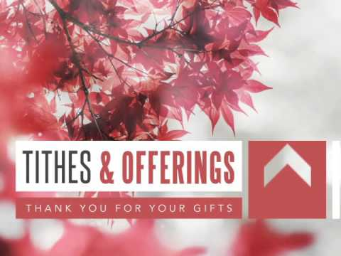 Prayer Service Ministry Tithes And Offerings Video Loop