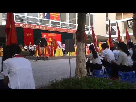 khai giảng trường THCS Nam Từ Liêm