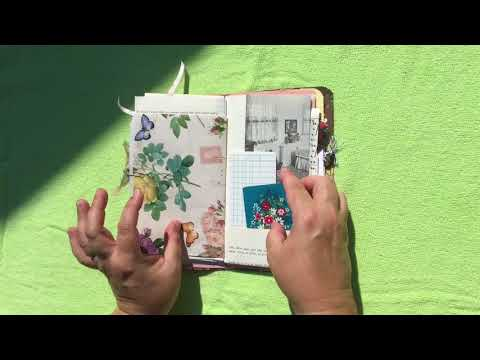 Faux flowish Journal for Melody M