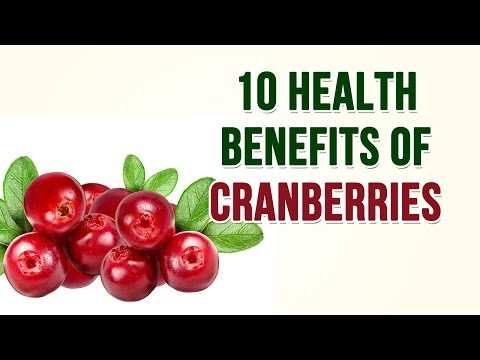 Top 10 Health Benefits of Cranberries || Best Health Tips || Health and Beauty Care