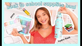 COLLEGE SUPPLIES SHOPPING HAUL 2019 ~ COLLEGE ESSENTIALS YOU NEED ~