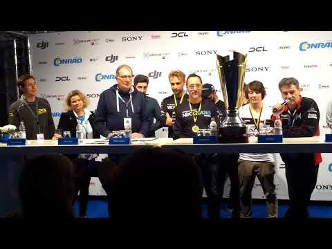 Pressekonferenz des DCL Finales in Berlin - Conrad Electronic