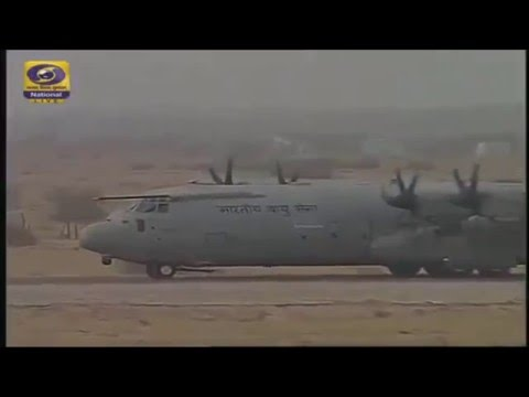 Indian C130J Super Hercules Special Forces Tactical Insertion