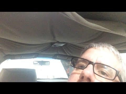 How to repair or not repair a headliner? Maybe….