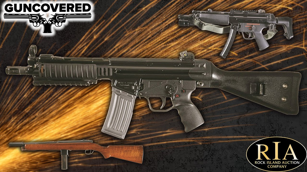 Guncovered: SMGs Beyond the Thompson