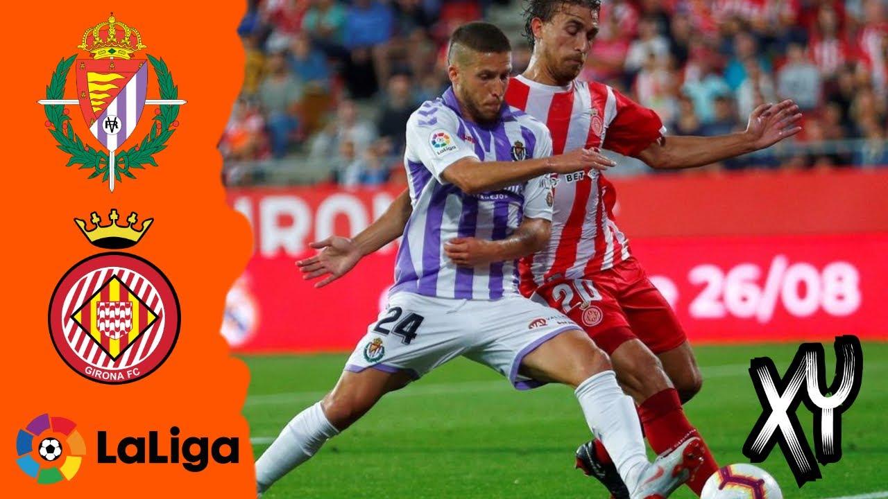 Real Valladolid 1 0 Girona Flash Highlights Youtube