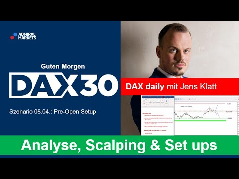 DAX aktuell: Analyse, Trading-Ideen & Scalping | DAX 30 | CFD Trading | DAX Analyse | 08.04.2020