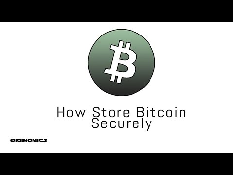 How To Store Bitcoin Securely
