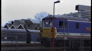 British Rail Network SouthEast Portsmouth December 1990