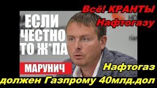 Украина в ПАНИКЕ!ЭТО КОНЕЦ! Украинская ГТС Европе не нужна! -- Марунич