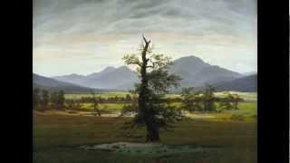 Caspar David Friedrich, Solitary Tree (or Lone Tree), 1822