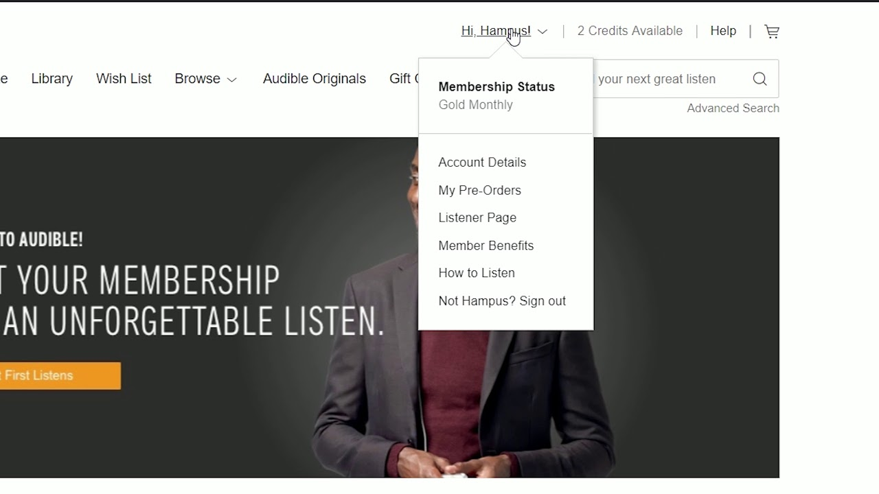 Audible - FREE Sign Up & Cancel Subscription GUIDE