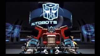 Transformers (Armada) Story PS2 Gameplay