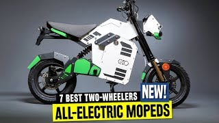 7 Electric Mopeds for City Commuting in 2019: Ranked from Affordably Priced to Long-Range Models
