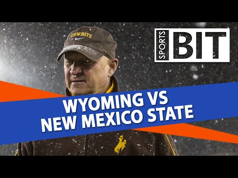 Wyoming vs New Mexico State Season Opener | Sports BIT | NCAAF Picks